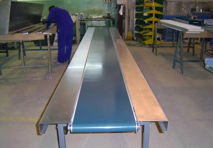 Belt conveyors series M-05 and M-10