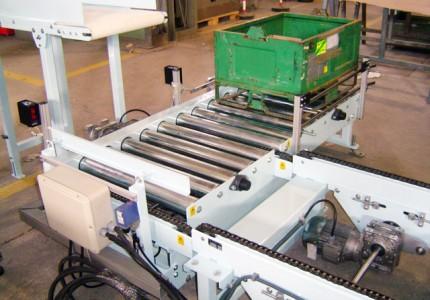 Transportadors de corrons de gravetat i motoritzats sèrie MCRG i MCRM